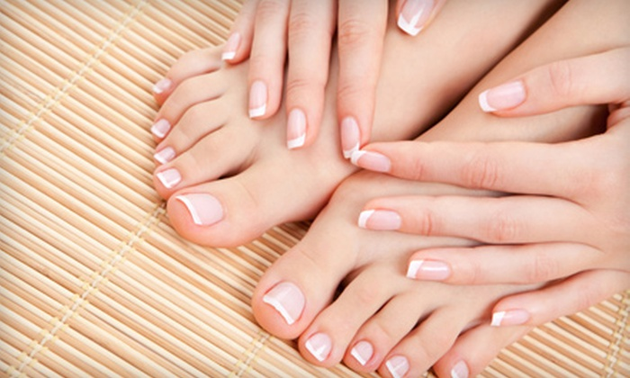 Hair Play Salon & Spa - Morningside Heights: Mani-Pedi, Facial, or Mani-Pedi and Facial at Hair Play Salon & Spa (Up to 51% Off)