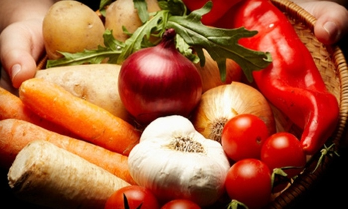 Full Circle: $18 for One Standard Box of Organic Produce and Artisan Groceries Plus Delivery from Full Circle ($37 Value)