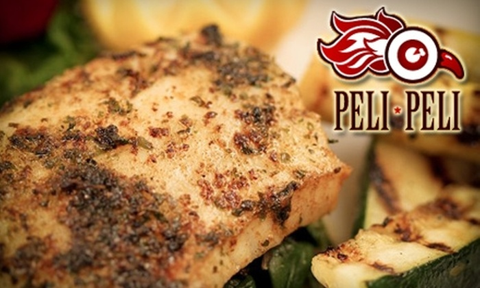 Peli Peli - Houston: $20 for $40 Worth of Authentic South African Cuisine at Peli Peli