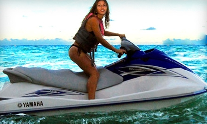 Miami BeachSports - Oceanfront: $79 for One-Hour WaveRunner Rental and Two Chair Rentals at Miami Beachsports (Up to $180 Value)