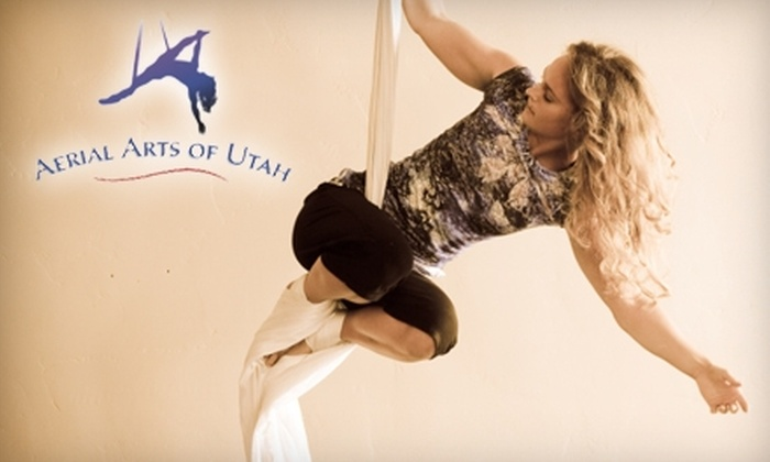 Aerial Arts of Utah - Sugar House: $18 for Two Fabric and Trapeze Classes at Aerial Arts of Utah ($36 Value)