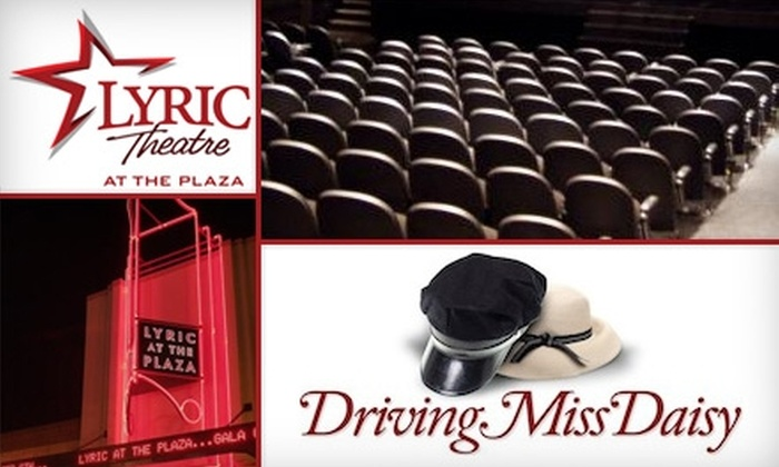 "Lyric Theatre - Gatewood UCD: $15 for a General-Admission Ticket to ""Driving Miss Daisy"" at the Lyric Theatre ($30 Value). Buy Here for the Opening-Night Show on Thursday, April 15, at 7:30 p.m. See Below for Additional Dates and Times."