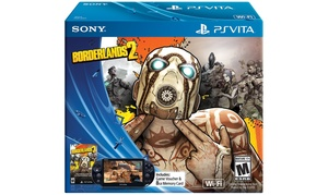 PlayStation Vita WiFi Console with Borderlands 2