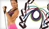 Resistance-Band Set: $19 for a ProSource Resistance-Band Set with Five Bands, Door Anchor, Carrying Case, and Training Manual ($34.95 Value)