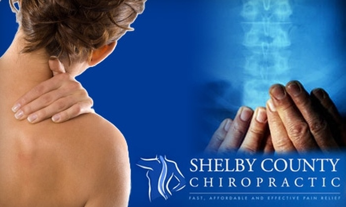 Shelby County Chiropractic - Shelbyville: $30 for Initial Chiropractic Exam, X-Rays, and a 60-Minute Massage at Shelby County Chiropractic in Shelbyville (Up to $290 Value)