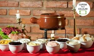 Au Fondue: Rodízio de fondue à vontade para 2 ou 4 pessoas no Au Fondue – Lago Sul