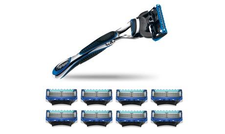 Rasoio Gillette Fusion Proglide e 8 ricariche a 26,99 €