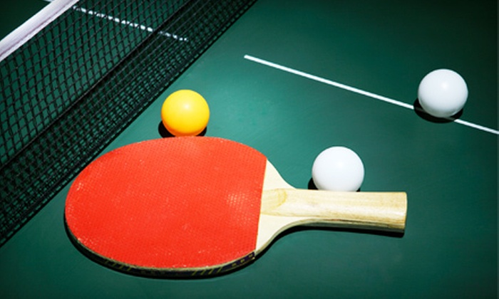 Peninsula Table Tennis Club - Ingold - Milldale: One-Month Membership or 10 Drop-In Sessions at Peninsula Table Tennis Club in Burlingame (Up to 58% Off)