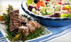 Up to 56% Off Greek Fare for Two at Sofi Greek Restaurant