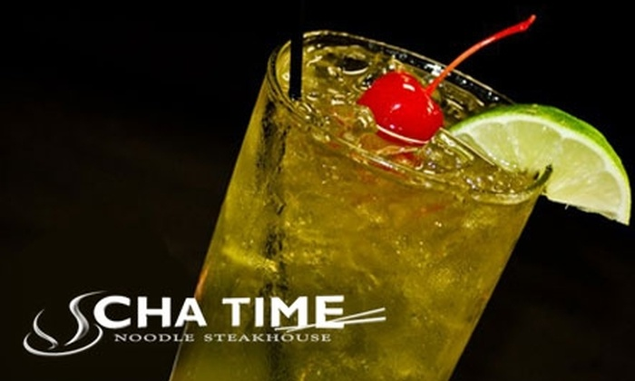 Cha Time - Norman: $10 for $20 Worth of Asian Fare and Drinks at Cha Time in Norman