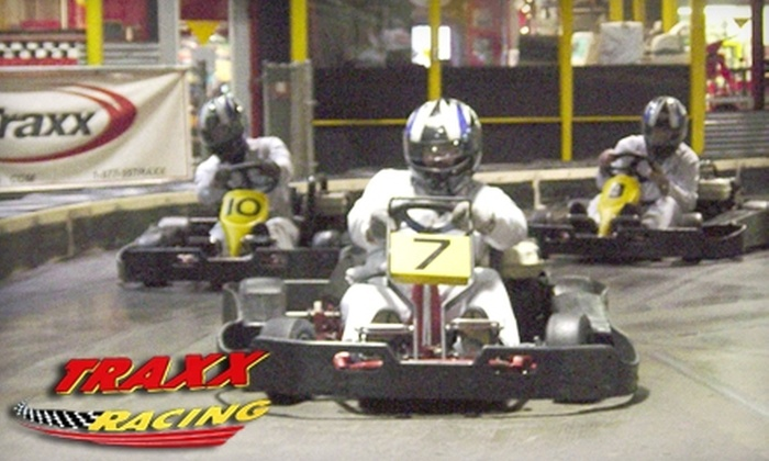 Traxx Indoor Raceway - Harbour Pointe: $20 for Annual Membership, Plus Two Go-Kart Races, at Traxx Indoor Raceway in Mukilteo ($45 Value)