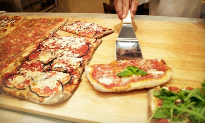 Farinella - Central Park: $13 for Pizza and Sodas Delivered to Central Park from Farinella Italian Bakery ($25 Value)