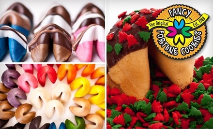 $35 Groupon to Fancy Fortune Cookies - Fancy Fortune Cookies in