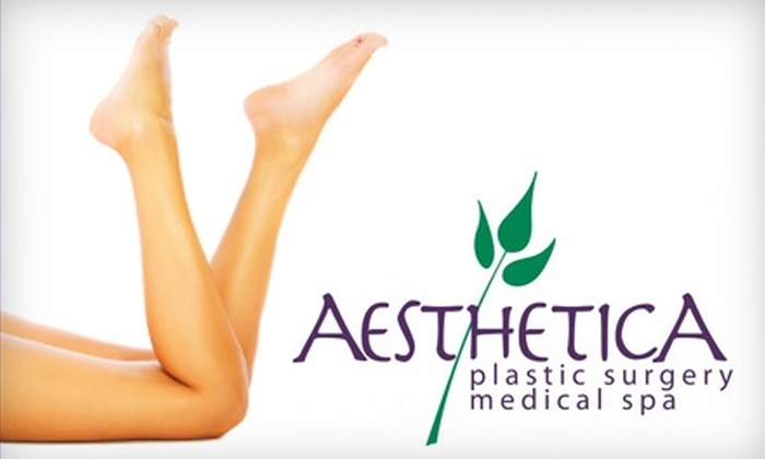 Aesthetica Medical Spa - Lindon: $99 for Six Laser Hair-Removal Treatments at Aesthetica Medical Spa in Lindon