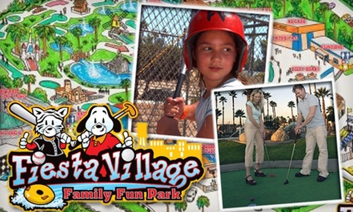 Fiesta Village Family Fun Park - Colton: $12 for an Extreme Pass to Fiesta Village Family Fun Park in Colton ($24.95 Value)