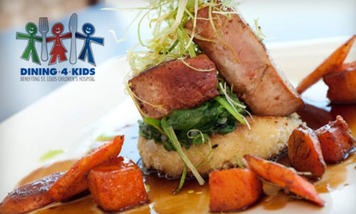 Bixby's - Saint Louis: American Lunch Fare for Two or Four at Bixby's. 25% of Proceeds go to St. Louis Children's Hospital.