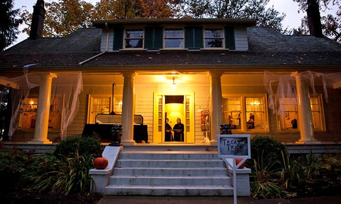 Burnaby Village Museum - Douglas-Gilpin: Admission for Two to Haunted Village at Burnaby Village Museum (50% Off). Two Dates Available.
