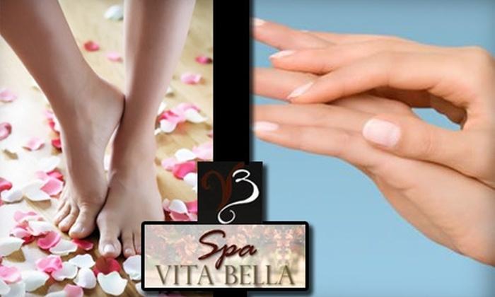 Spa Vita Bella - Fircrest: $25 for a Classic Pedicure and Hand Treatment at Spa Vita Bella