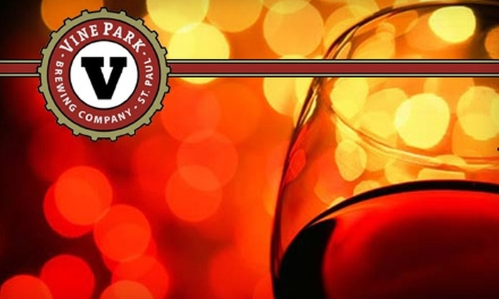 Vine Park Brewing Company - West Seventh: $50 for a Blended-Fruit Wine-Brewing Session at Vine Park Brewing Company ($100 Value)