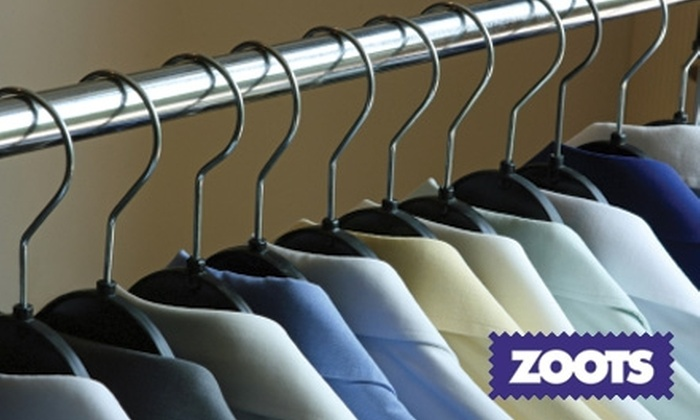 Zoots Dry Cleaning - Multiple Locations: $30 for $60 or $50 for $125 Worth of Dry Cleaning at Zoots Dry Cleaning