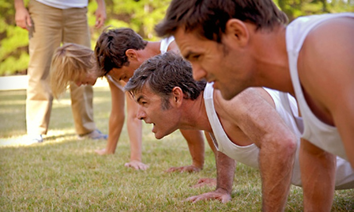 Fueled Fitness - Multiple Locations: 12 or 30 Boot-Camp Classes at Fueled Fitness