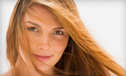 1 Cut-and-Highlights Package (up to an $85 total value) - Your Tropical Escape in London