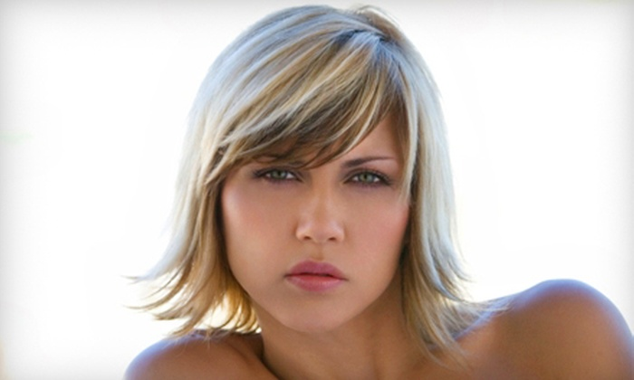 Blu Olive Studio - Charleston: $70 for Partial Highlights and Haircut at Blu Olive Studio (Up to $140 Value)