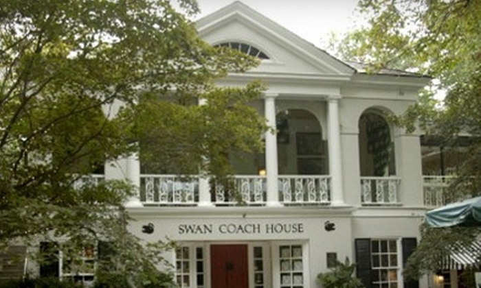 The Swan Coach House Restaurant - Peachtree Heights West: $12 for $25 Worth of Southern Fare at The Swan Coach House Restaurant