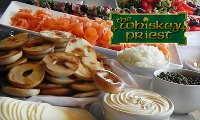 The Whiskey Priest - South Boston: $6 for Sunday Brunch ($19.95 Value) or $7 for $15 Worth of Irish-American Fare Anytime at The Whiskey Priest