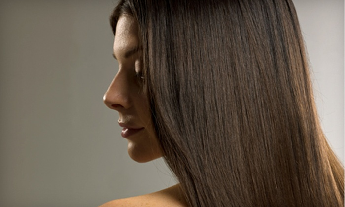 Mane Expressions Hair Studio - Northeast: Haircut and Partial Highlights or Keratin Smoothing Treatment at Mane Expressions Hair Studio