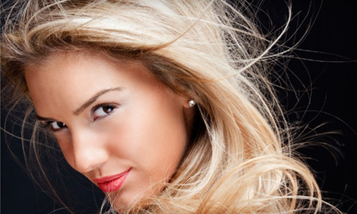 The Hair Color Salon and Spa - Lawrenceville: Women's Cut-and-Color Packages at The Hair Color Salon and Spa in Lawrenceville (Up to 69% Off). Four Options Available.