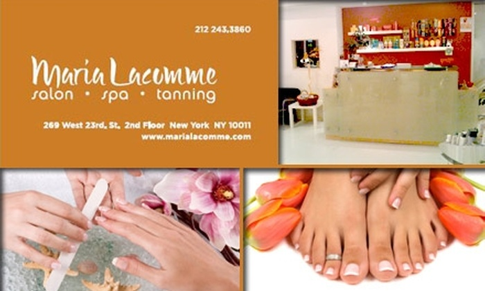 Maria Lacomme Salon - Chelsea: $24 for a Mani-Pedi Spa Package at Maria Lacomme Salon