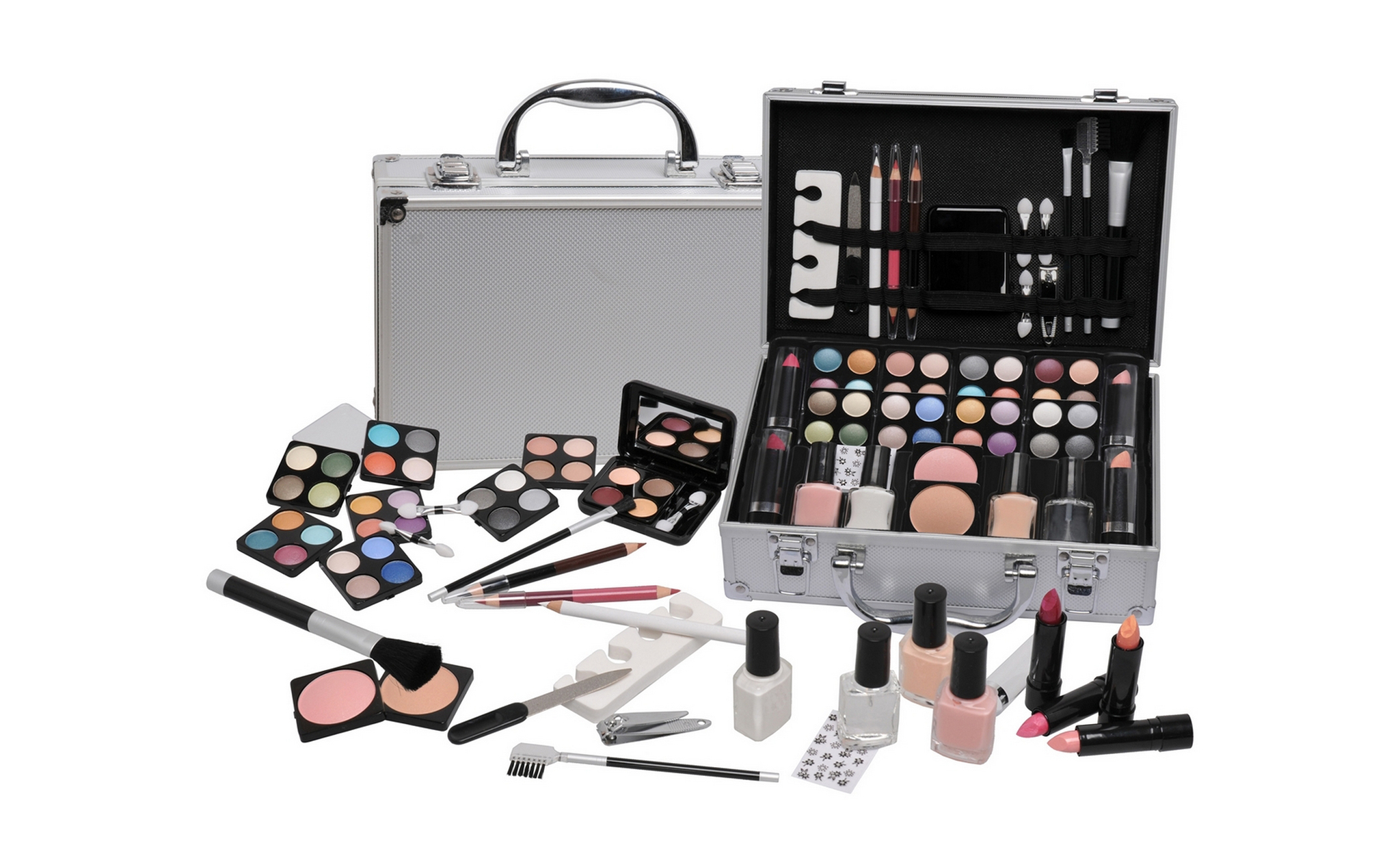 52- or 58-Piece Urban Beauty Cosmetic Case From £16.99