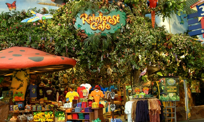 Rain Forest Cafe Atlantic City Coupons