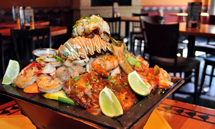 Cabo Grande - Downtown Fort Worth: Parillas for Two, Four, or Six, or $11 for $20 Worth of Tex-Mex and South American Fare at Cabo Grande (Up to 52% Off)