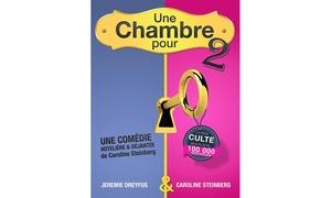 Comédie de Grenoble: 2 places pour''Une chambre pour 2''du 1er au 13 novembre à 20 €