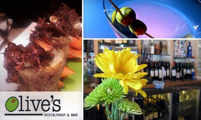 Olives Restaurant - East Grand Rapids: $15 for $30 Worth of Artful Contemporary Fare at Olive's Restaurant & Bar