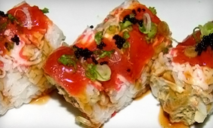 Sushi Unlimited - Multiple Locations: $15 for $30 Worth of Japanese Cuisine at Sushi Unlimited