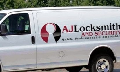 $28 for $55 Worth of Service Call — AJ <strong>Locksmith</strong> & Security