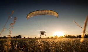 Easy flying Paramotor school-Belgium: Vol en paramoteur, prise de vue,briefing ou formation complète à partir de 99,99€ chez ready2 fly