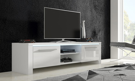 Chicago TV Cabinet in Choice of Colour (£109.99) with Optional LED Lighting (£124.99) With Free Delivery (Up to 85% Off)