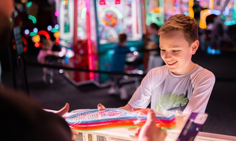 Family Fun, Pizza and Arcade, or Birthday Party Package at Epic Arcade (Up to 49% Off)