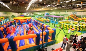 Xtreme Inflatables: Two-Hour Pass to Inflatable Arena for One ($10), Two ($20) or Four People ($40) at Xtreme Inflatables (Up to $56 Value)