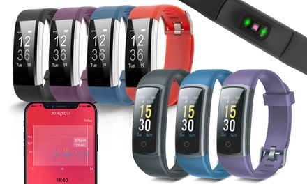 Aquarius AQ125 or AQ126 Touch-Screen Fitness Tracker with HRM