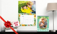 Personalised Wall or Desk Calendar: One (from $5.99), Two (from $10.99) or Five (from $24.99) (Dont Pay up to $174.75)