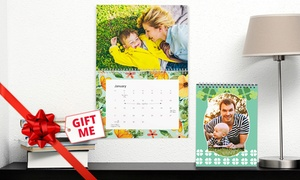 Photobook Australia (Local): Personalised Wall or Desk Calendar: One (from $5.99), Two (from $10.99) or Five (from $24.99) (Don't Pay up to $174.75)