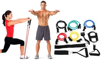6 or 11 Resistance Bands Set