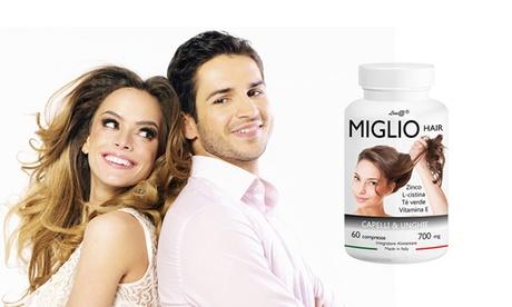 Comprimidos Mile Hair Line@ para fortalecer el cabello
