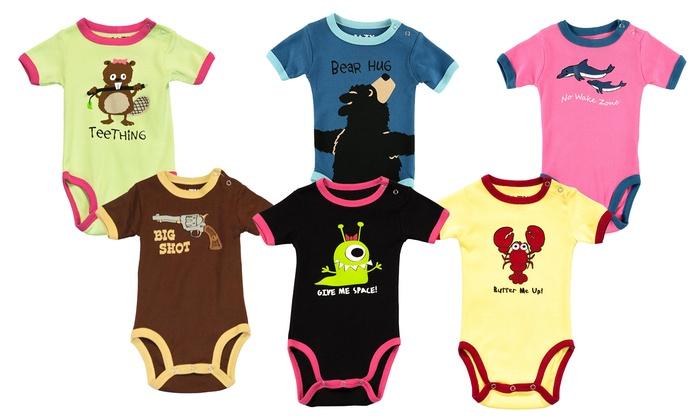c9cb781e8e LazyOne Baby Vest or Sleepsuit ...