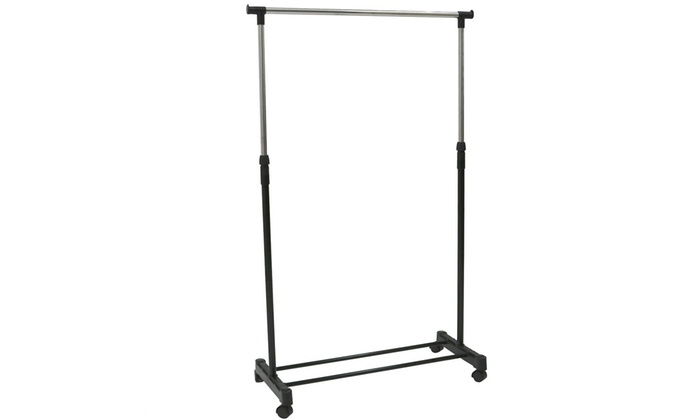 Single or Double Heavy-Duty Clothes Rails (£10.98)